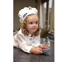 My Little Chef Photographic Print