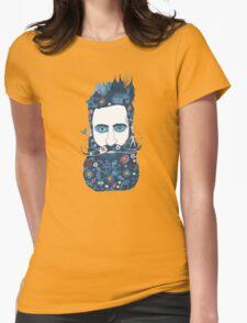 The little beard cutter Womens Fitted T-Shirt