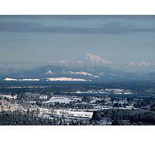 Looking to Mount Baker Washington State, USA Photographic Print