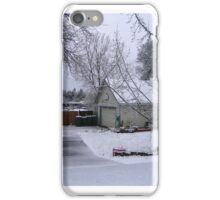 One Winter Day iPhone Case/Skin