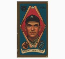 Benjamin K Edwards Collection George Moriarty Detroit Tigers baseball card portrait 001 Kids Tee