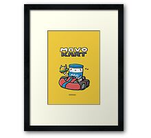 Mayokart - It's-a me, Mayo! Framed Print
