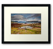 The Tide is Out on the Isle of Skye Framed Print