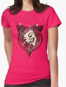 Remember Remember Womens Fitted T-Shirt