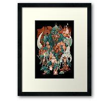 Dark Souls Friends Poster Framed Print