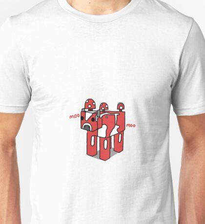 Minecraft Mooshroom Design Unisex T-Shirt