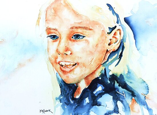 Portrait of lydia by Kay Clark