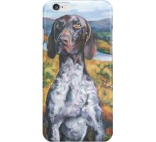 German Shorthaired Pointer Fine Art Painting iPhone Case/Skin