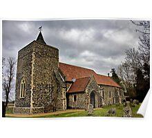 St Michael, Stratton St Michael Poster
