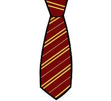 Gryffindor-Tie by Stacey Roman
