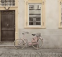 Pink Bicycle by KatWarren