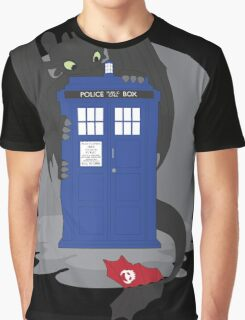 Toothless TARDIS Graphic T-Shirt
