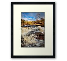 Falls in the Dales Framed Print