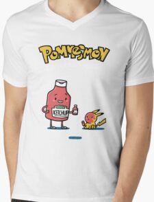 Pommesmon - Gotta ketchup all Mens V-Neck T-Shirt