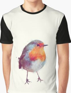 Winter Robin Graphic T-Shirt