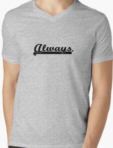 Castle&Beckett - Always Mens V-Neck T-Shirt