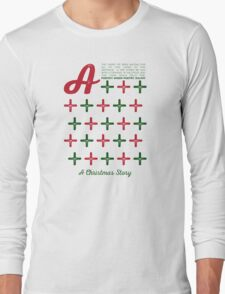 A Christmas Story - A+ Theme Long Sleeve T-Shirt