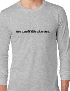 Castle&Beckett - You smell like cherries Long Sleeve T-Shirt