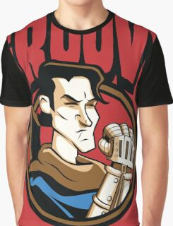 Time Travelers, Series 1 - Ash Williams (Alternate 2) Graphic T-Shirt