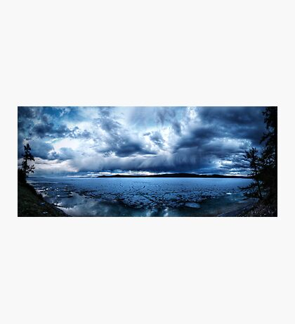 Lake Khovsgol Under The Clouds Photographic Print