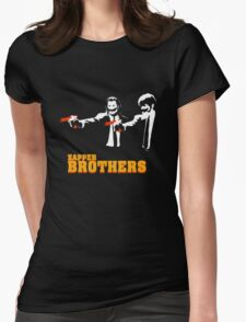 Zapper Brothers Womens Fitted T-Shirt
