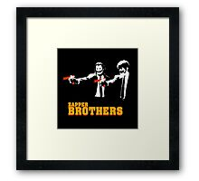 Zapper Brothers Framed Print