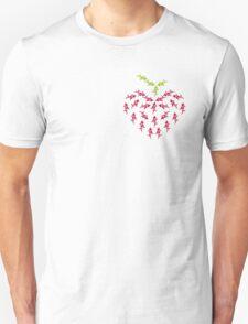 Heart Puppy Berry T-Shirt