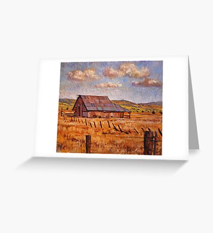 Barn Near Hayden Hill Greeting Card