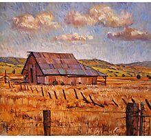 Barn Near Hayden Hill Photographic Print