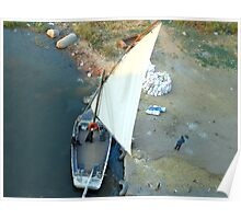 Felucca Boat on Nile Poster