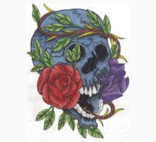 Beauty In Death One Piece - Long Sleeve