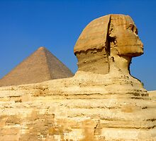 Sphinx of Giza by Valgal212