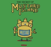 Look behind you, a three-headed mustard! Kids Tee