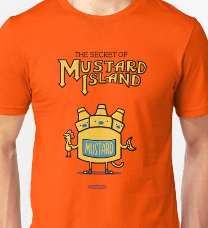 Look behind you, a three-headed mustard! Unisex T-Shirt