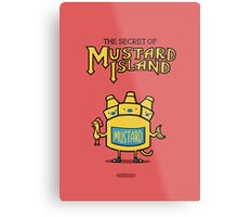 Look behind you, a three-headed mustard! Metal Print