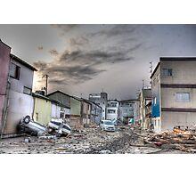 Ishinomaki, Unforgettable Sunset in Tohoku Photographic Print