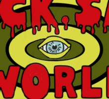 Sick sad world Daria Sticker