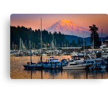 Gig Harbor Sunset Canvas Print