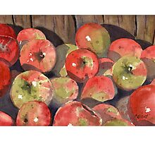 Manzanas Photographic Print