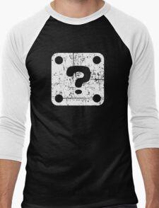 Mario Question Block Men's Baseball ¾ T-Shirt