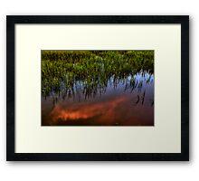 Tideland Reflection Framed Print