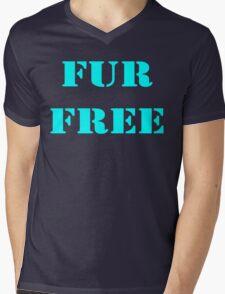 FUR FREE Mens V-Neck T-Shirt
