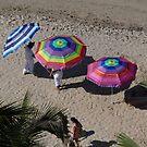 The Three Umbrellas - Las Tres Sombrillas by PtoVallartaMex