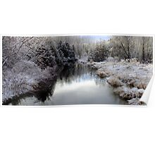 Winters Silver Light Poster