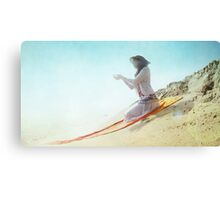 Divine offer in the beach Canvas Print