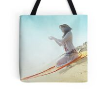 Divine offer in the beach Tote Bag