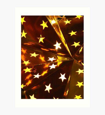 Paper Stars Art Print