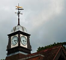 Clock Tower, Wolferton Station, Sandringham, Norfolk. by Billlee