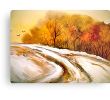 The First Thaw Metal Print