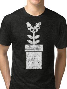 Mario Piranha Plant Tri-blend T-Shirt